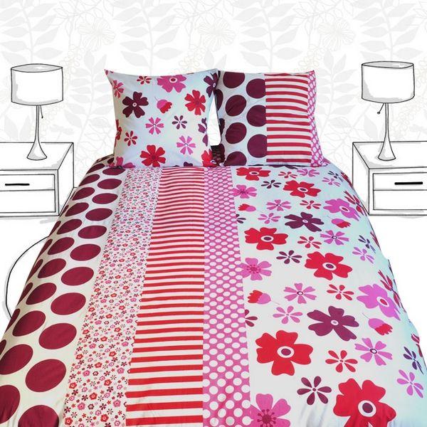 housse de couette liberty 200x200 linge de maison. Black Bedroom Furniture Sets. Home Design Ideas