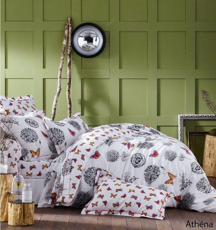 drap housse ath na 140x190 tradilinge. Black Bedroom Furniture Sets. Home Design Ideas