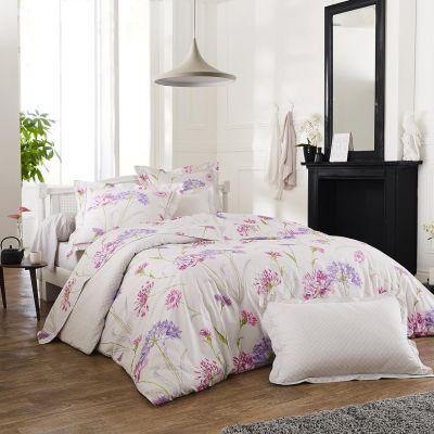 drap housse caprice percale 90x200 linge de maison. Black Bedroom Furniture Sets. Home Design Ideas