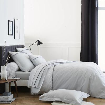 drap housse frivole percale 80x200 linge de maison. Black Bedroom Furniture Sets. Home Design Ideas