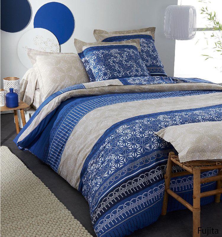 drap housse fujita 200x200 tradilinge. Black Bedroom Furniture Sets. Home Design Ideas