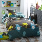 Drap housse Monsters bt30 90x190 - Tradilinge
