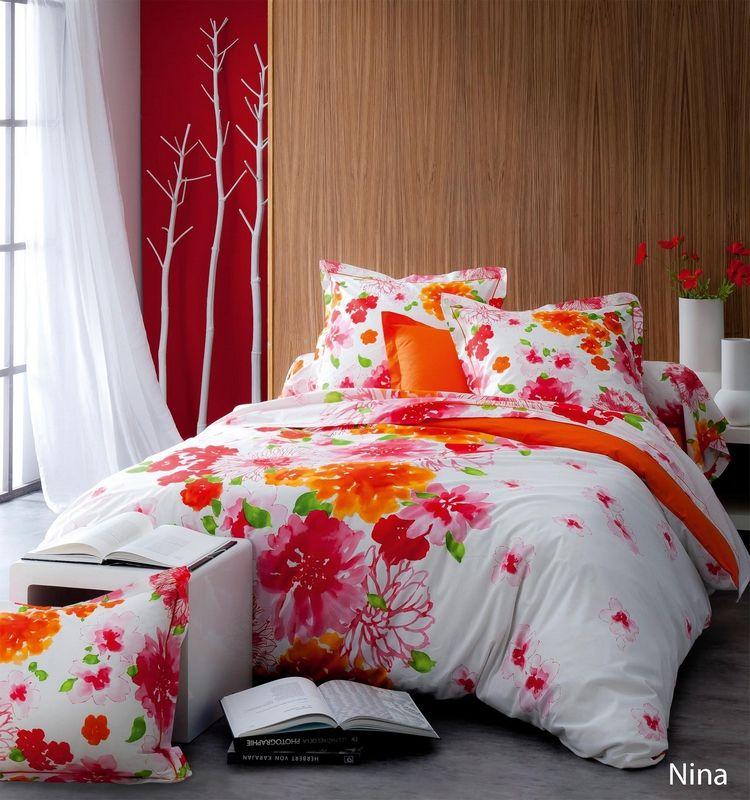 drap housse nina 160x200 tradilinge. Black Bedroom Furniture Sets. Home Design Ideas