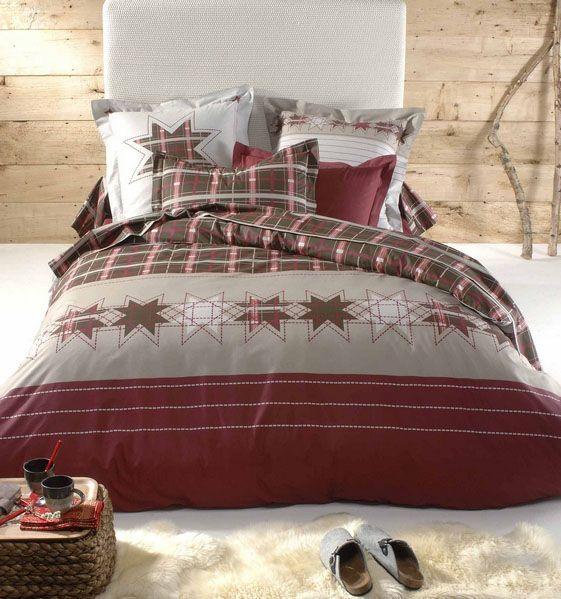 drap plat flocon 180x290 tradilinge. Black Bedroom Furniture Sets. Home Design Ideas