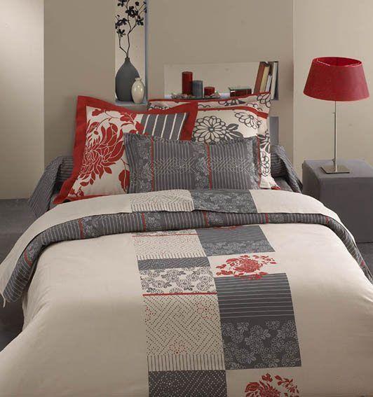 housse de couette eve 140x200 linge de maison. Black Bedroom Furniture Sets. Home Design Ideas