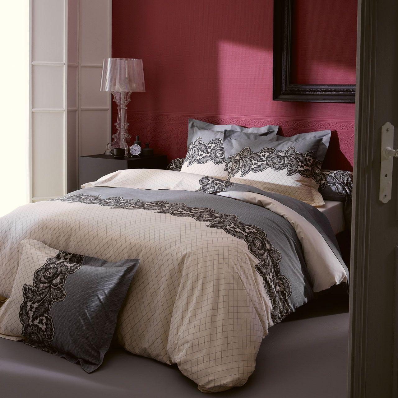 housse de couette malice 260x240 tradilinge. Black Bedroom Furniture Sets. Home Design Ideas
