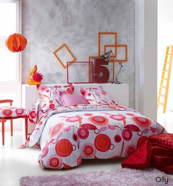 housse de couette olly 200x200 linge de maison. Black Bedroom Furniture Sets. Home Design Ideas