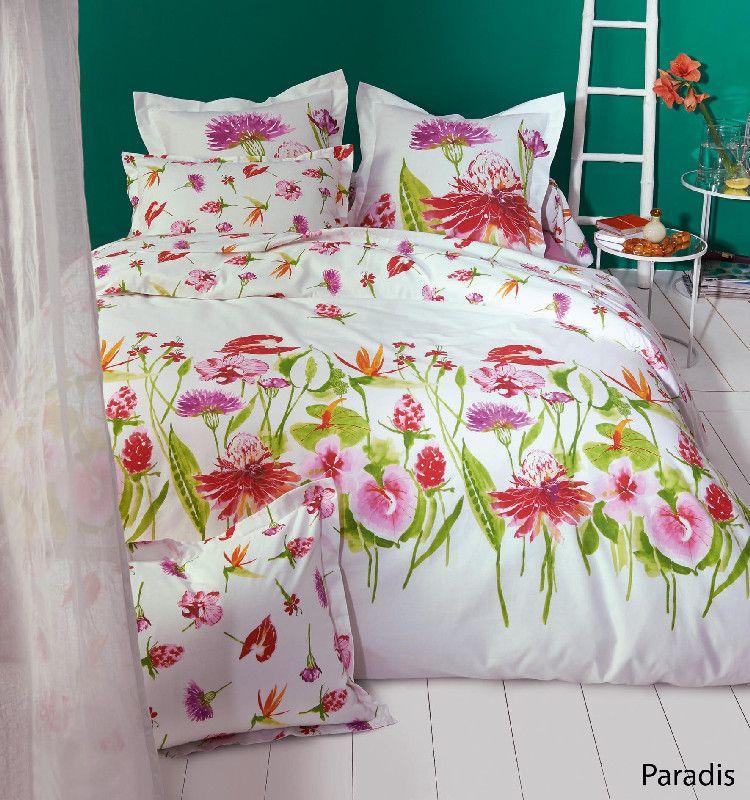 housse de couette paradis 240x220 linge de maison. Black Bedroom Furniture Sets. Home Design Ideas