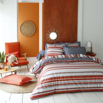 housse de couette vista 140x200 linge de maison. Black Bedroom Furniture Sets. Home Design Ideas