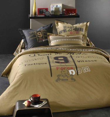 linge de lit demi melee