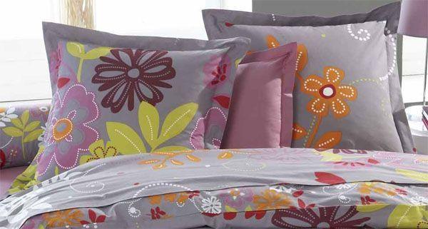 taie d 39 oreiller elsa 65x65 linge de maison. Black Bedroom Furniture Sets. Home Design Ideas
