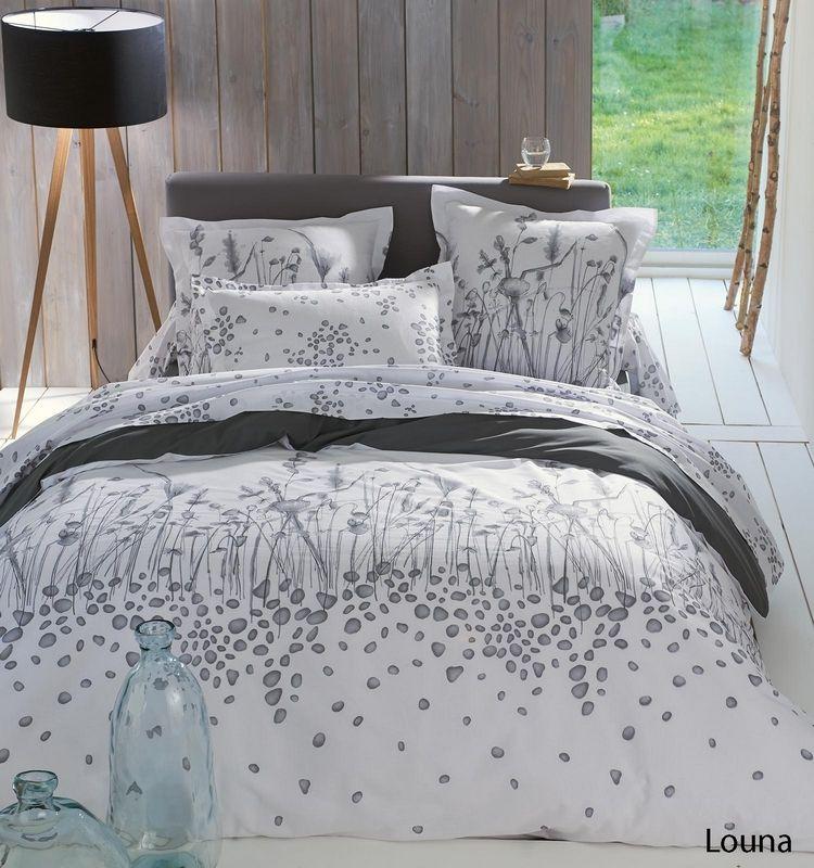 taie d 39 oreiller louna 65x65 linge de maison. Black Bedroom Furniture Sets. Home Design Ideas