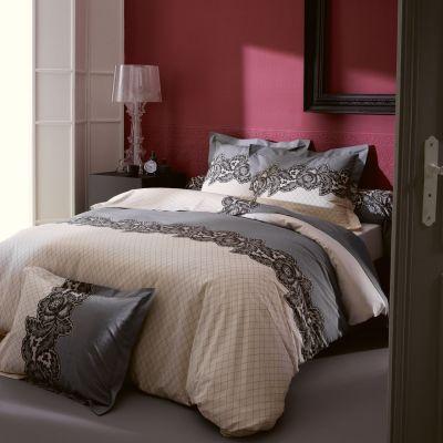 taie d 39 oreiller malice 65x65 linge de maison. Black Bedroom Furniture Sets. Home Design Ideas