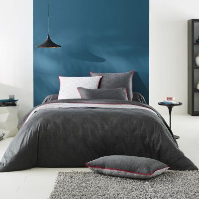 taie de traversin gilda satin 86x140 linge de maison. Black Bedroom Furniture Sets. Home Design Ideas