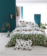 Taie de traversin Peacock percale 43x140 - Tradilinge