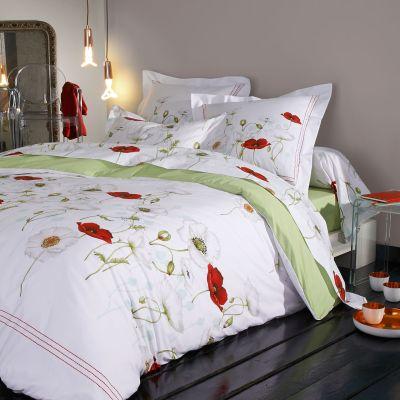 taie de traversin s duction percale 43x140 linge de maison. Black Bedroom Furniture Sets. Home Design Ideas