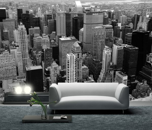 decoration mur new york. Black Bedroom Furniture Sets. Home Design Ideas