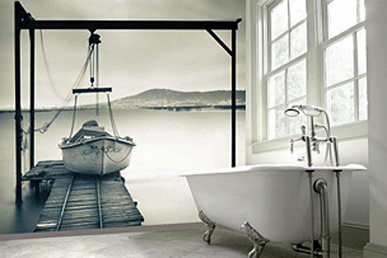 papier peint greendeco structure 4 100x100. Black Bedroom Furniture Sets. Home Design Ideas