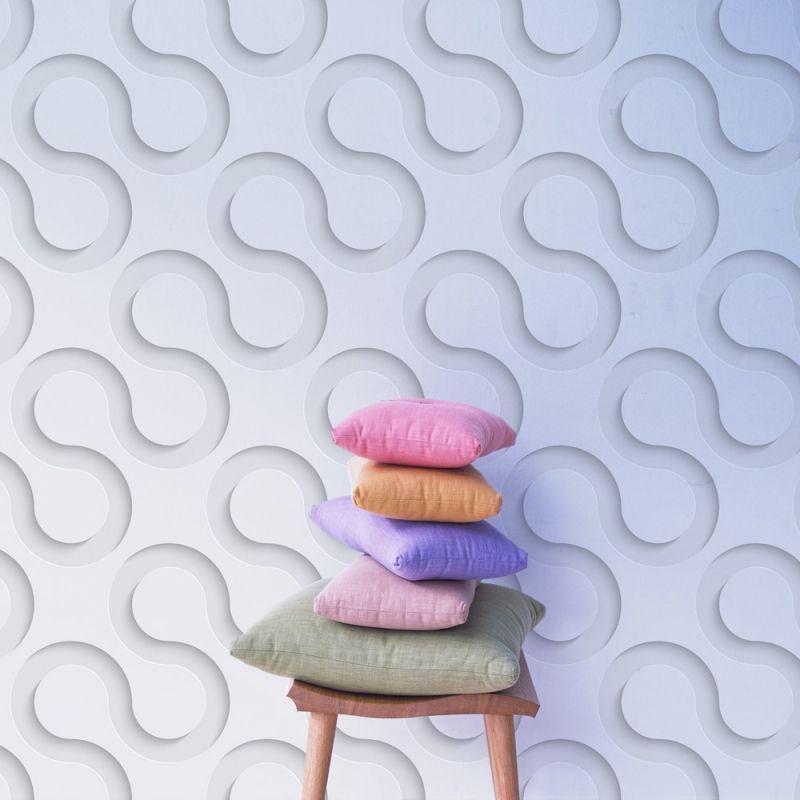 papier peint effet bulle 3d 403x250 d coration. Black Bedroom Furniture Sets. Home Design Ideas