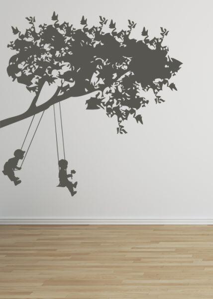 sticker d co enfants et balan oire 100x100. Black Bedroom Furniture Sets. Home Design Ideas