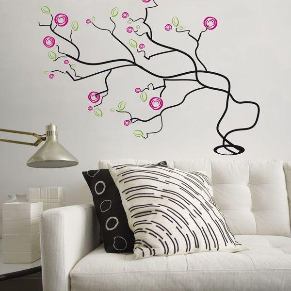 Stickers arbre pas cher : Shopping Deco