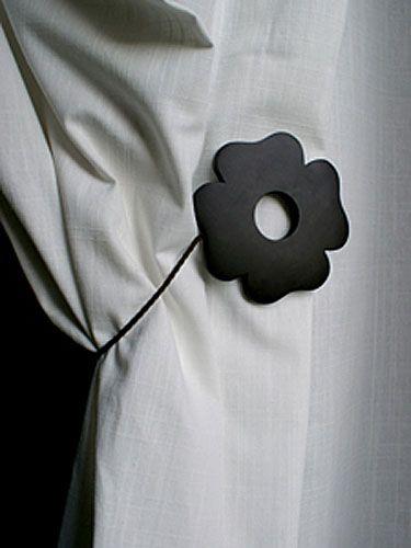 embrasse de rideau aimant e tr fle chocolat d coration. Black Bedroom Furniture Sets. Home Design Ideas