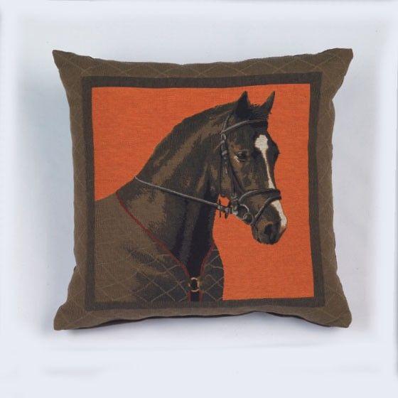 coussin concerto cheval 45x45 autrement dit. Black Bedroom Furniture Sets. Home Design Ideas