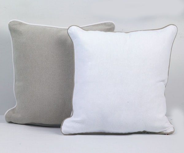 coussin osmose blanc 45x45 autrement dit. Black Bedroom Furniture Sets. Home Design Ideas