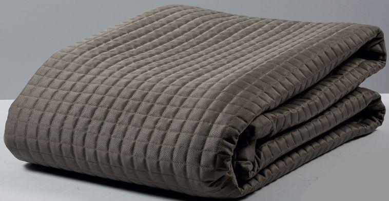 jet de lit apart matelass chevron 260x260 linge de maison. Black Bedroom Furniture Sets. Home Design Ideas