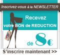 Newsletter - bon de réduction